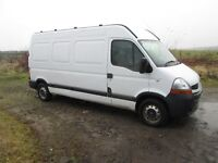 08 plate RENAULT MASTER LWB LM35 DCI 100 WITH AIR CON spares repair