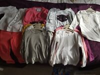 3-4 years girls clothing bundle