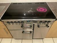 Rangemaster Professional Electric Hob, Oven & Grill 90x90x60cm