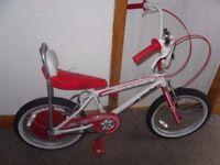 2 x kids one direction chopper bikes