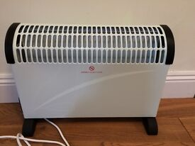 HomeBase 2KW Electric Convector Heater with timer - Virtually New