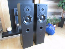 Dynaudio Audience 60 Main / Stereo Speakers Black 150 watts