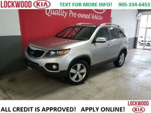 2013 Kia Sorento EX V6 AWD - LEATHER, SUNROOF, BLUETOOTH