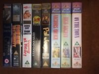 HIGH SOCIETY ETC 9 Frank Sinatra movies New unplayed VHS Videos