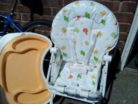Never been used highchair