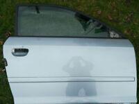 GENUINE A3 8P 3 DOOR 2004-12 N/S DRIVERS RIGHT DOOR PANEL CRYSTAL BLUE LY7R