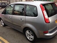 55 C Max 1.6 Zetec Climate Petrol 1 yr Mot, 1 Owner , 64000 Miles Silver Choice of 2