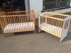 Two cots