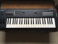 Yamaha MX49 synth keyboard