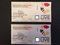 Christmas With The Overtones Tickets (x2) -Cambridge Corn Exchange. BUY 1 get 2nd 1 FREE