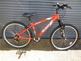 CHILDS APOLLO SLANT BIKE IN VERY GOOD USED CONDITION. (SUIT APPROX. AGE. 10 / 11+).