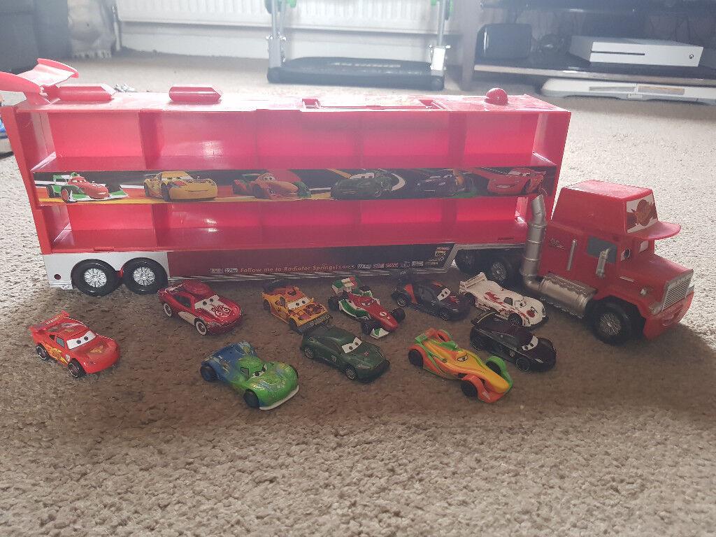disney cars mac the truck
