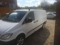 Mercedes Vito Campervan - Fully insulated and lined