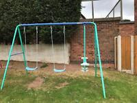 Free swing set need gone today