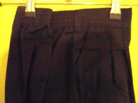 Alexandra Female Black Trousers – Size 12 (Open Hem)