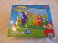teletubbie 45 piece puzzle