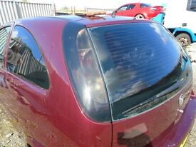 VAUXHALL CORSA C REAR HATCH