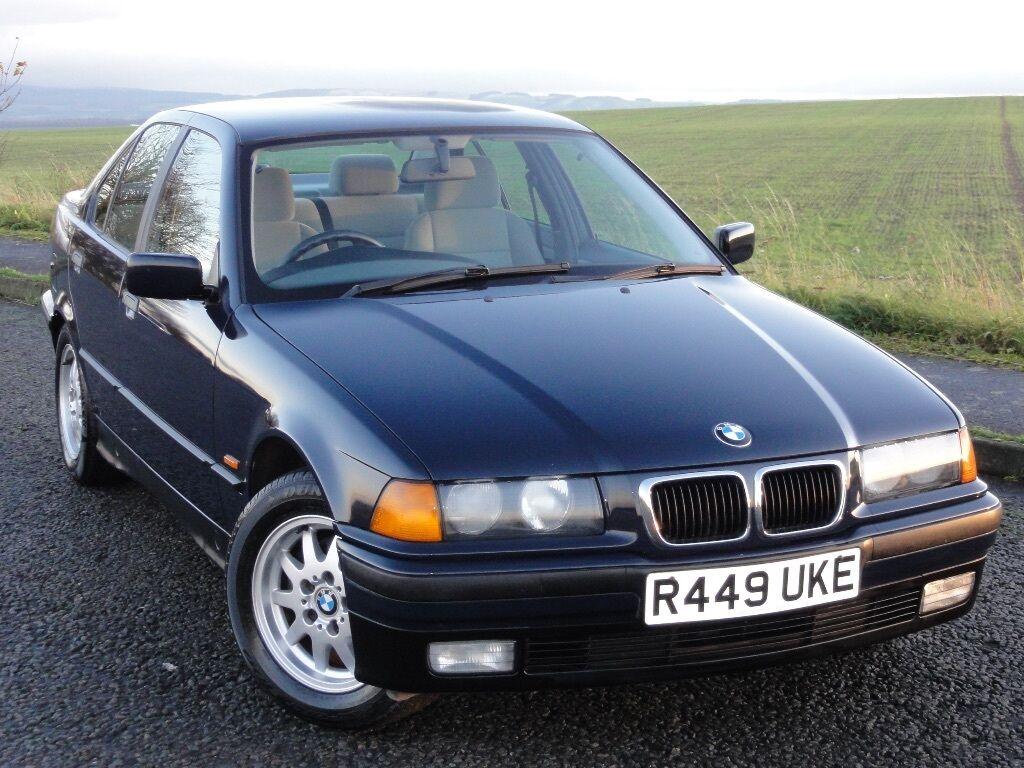 BMW E36 318i Saloon, Manual, Only 75k Miles, MOT: 08.2016, Service