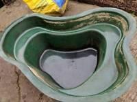 Pond Fibreglass with pump