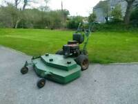 "Zero turn 48"" lawnmower large commercial."