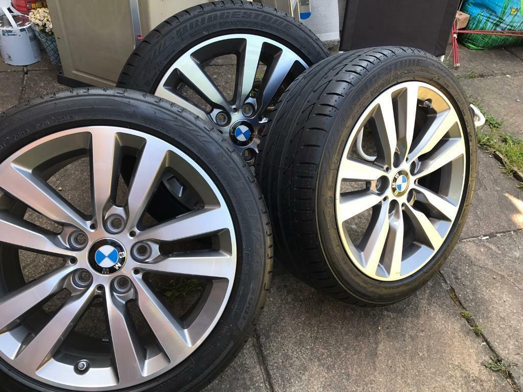 New Bmw Alloy Wheels With New Tyres In Rumney Cardiff