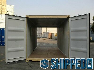 New 20ft Double Door Shipping Container Secure Storage In Los Angeles Ca