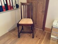 Four Oak, Arts and Crafts Dining Chairs