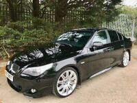 BMW 520d M Sport *jerez Black* 19 inch spiders stunning example!