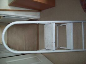 For sale allaminium ladders 12ft double with spikes also two pair of steps would suit any tradesman.