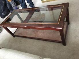 JOB LOT OF FURNITURE (Cabnits and Coffee Table)