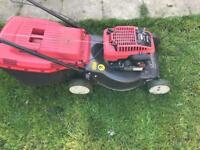 Mountfiled lawn mower
