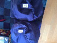 Bean bags next blue