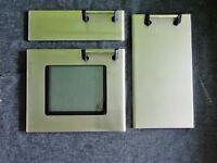 Genuine** **Rangemaster** Door Panels _ Complete Set + Handles + Hinges
