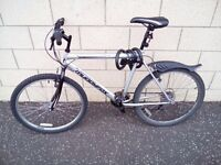 Bicycle in perfect condition with helmet (L), 2 locks, compact pump, flashlights and wrench for sale