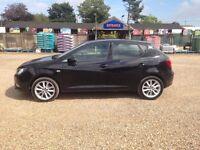 SEAT IBIZA TOCA 1.4 BLACK, (65 REG), PETROL, MANUAL £6995 (Cheapest in U.K for Ibiza Toca model)