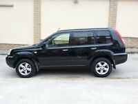 **CHEAP 2005 NISSAN X-TRAIL 2.2 DCi SVE 4WD £2495**SAT NAV+LEATHER+PANROOF Turbo Diesel bargain jeep