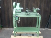 Myford ml10 lathe on stand with accessories nice condition all original paint