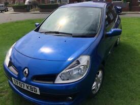 2007 Renault Clio 1.4 Petrol Dynamique MOT, FSH - £1000