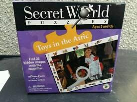 Secret world jigsaw