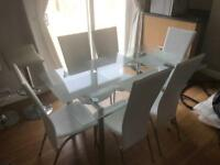 Very nice table and 6 chairs can deliver