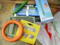 assorted aquarium aquipment