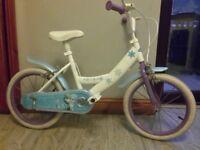 girls bike (disney frozen) in good condition only 9 pound cheap in b11