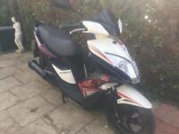 Kymco super 8 2015 125cc with 12 months mot faultless bike