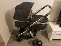 Mothercare orb with maxi cosi car seat