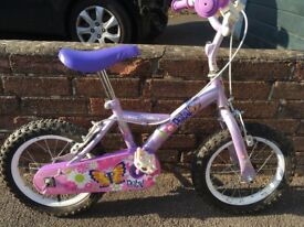 Children's girls bike