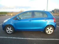 2006 (06) TOYOTA YARIS 1.3 VVT-i T SPIRIT 5 DOOR HATCHBACK BLUE