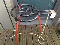 Paella and tripod stand
