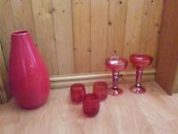 Vase /tealight candle holders