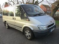 2002 51 FORD TRANSIT 2.0 TOURNEO 9 SEATER MINI BUS FULL MOT 02/18 TOW BAR VERY CLEAN INSIDE PX SWAPS
