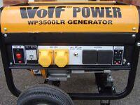 generator petrol 4 stroke wolf portable generator